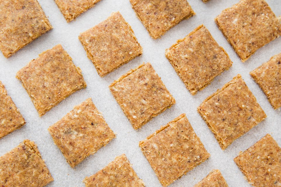 Gluten-Free Almond Flax Cracker