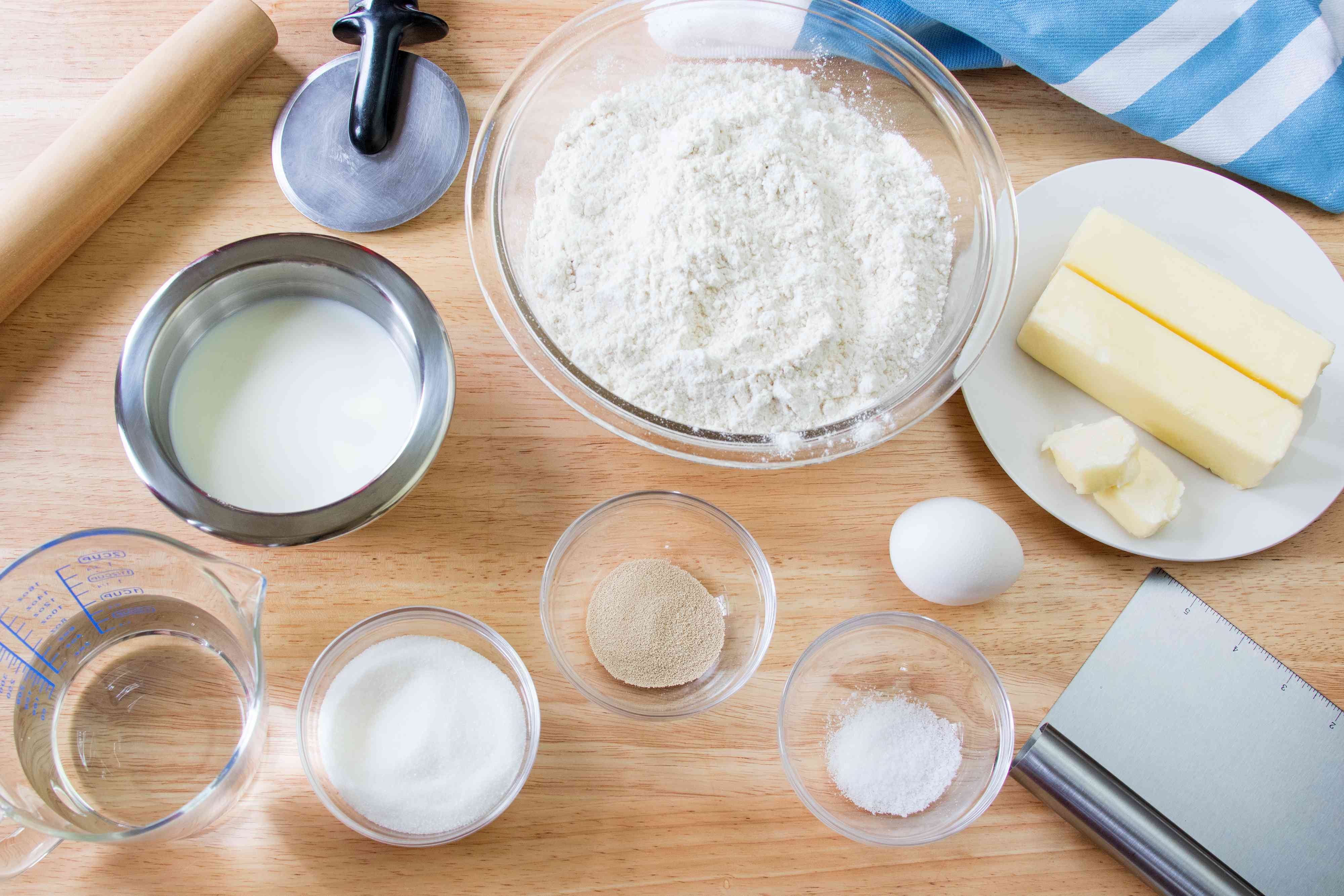 Ingredients for Croissants