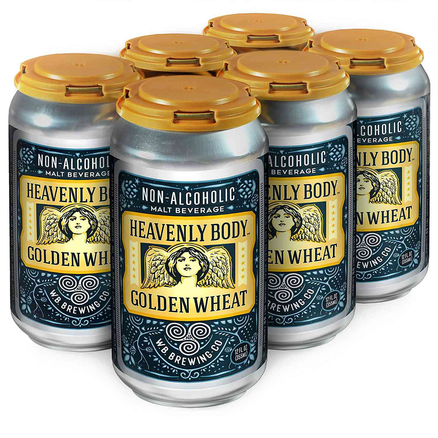 WellBeing Brewing Company Heavenly Body Golden Wheat