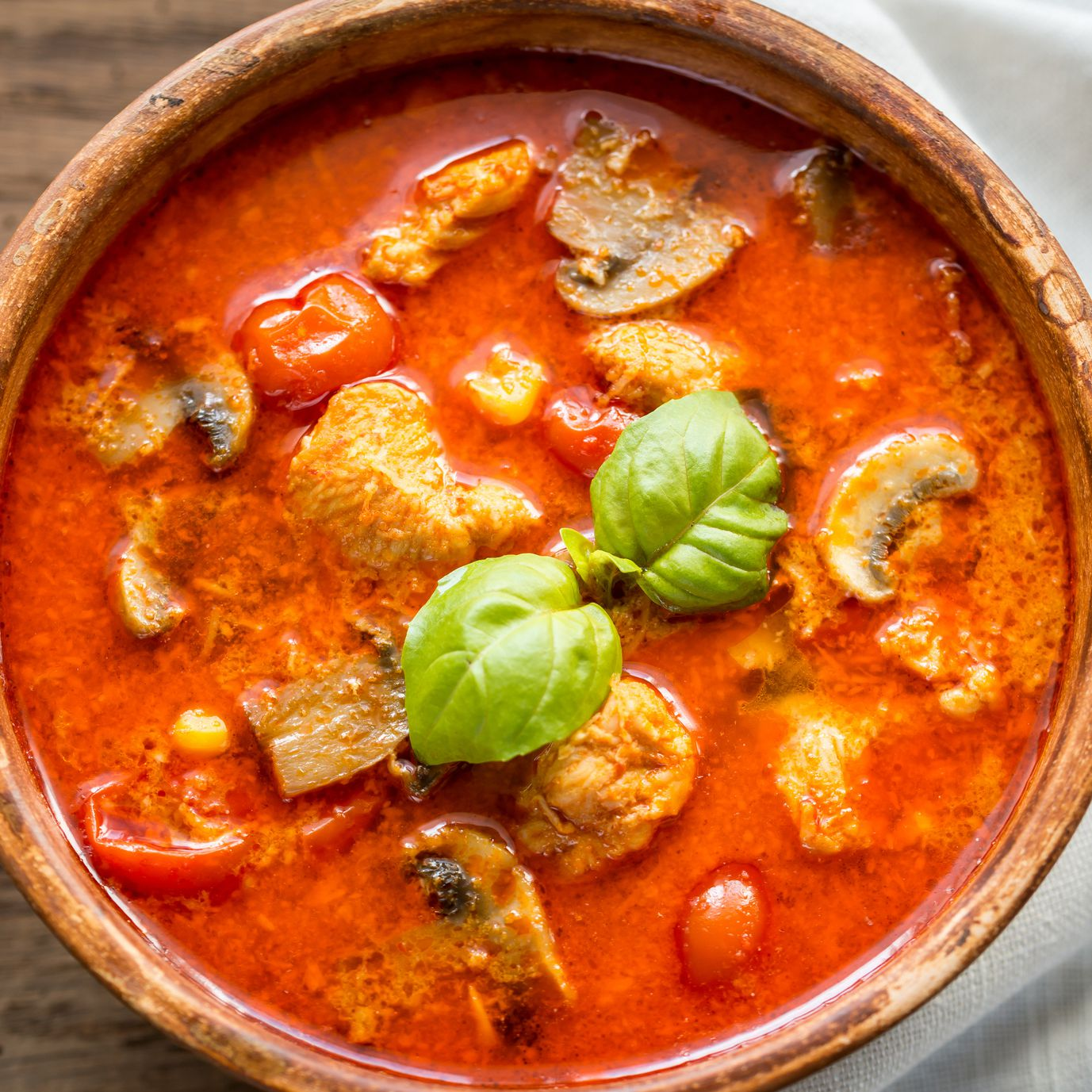 Thai Red Curry With Chicken Recipe