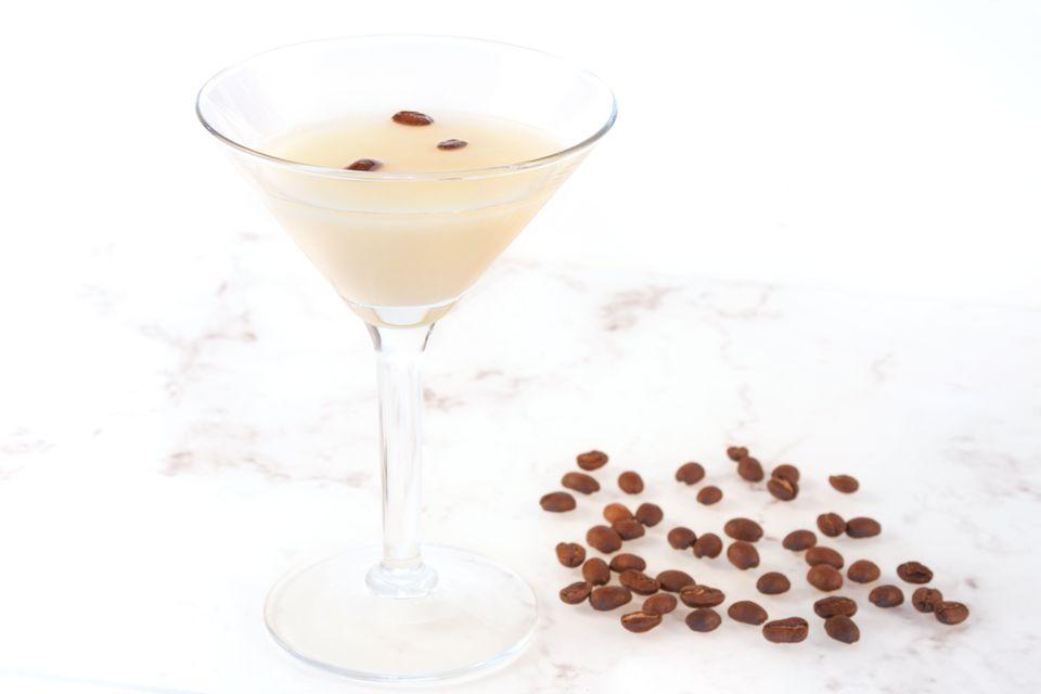 Golden Cappuccino Martini