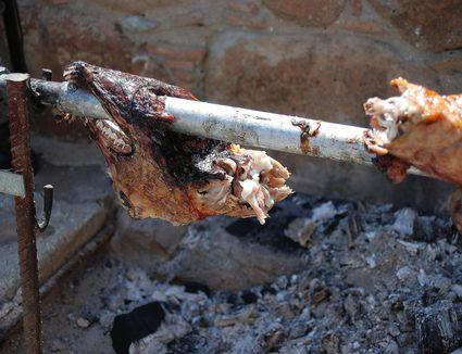 Whole Spit-Roasted Lamb