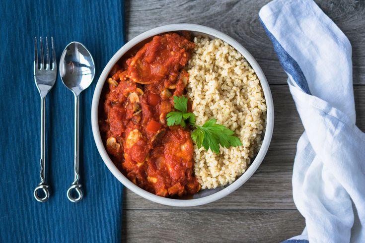 Easy Spanish Chicken With Tomato Sofrito Sauce Recipe