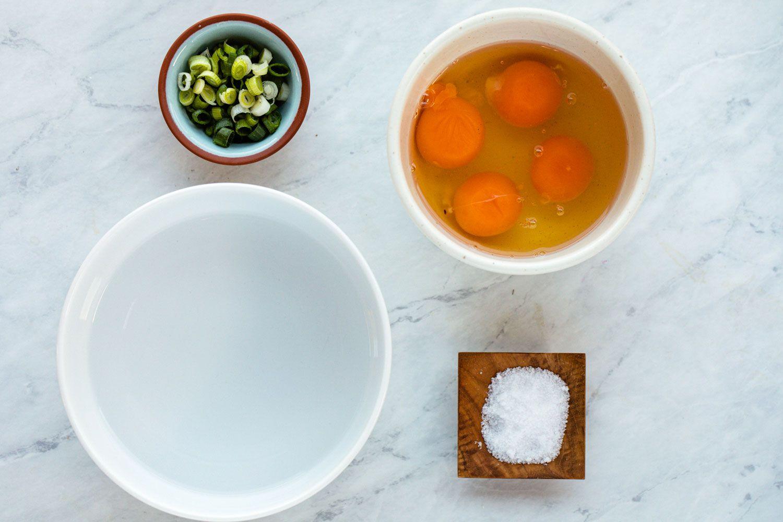 Korean Steamed Egg (Gaeran Jim) ingredients