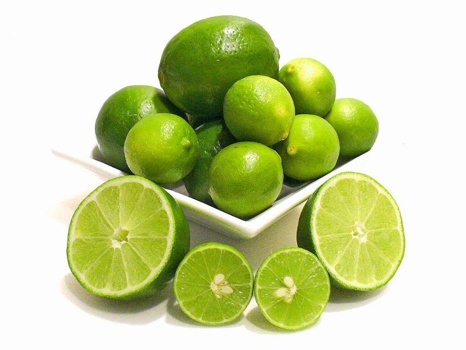 Persian Limes and Key Limes