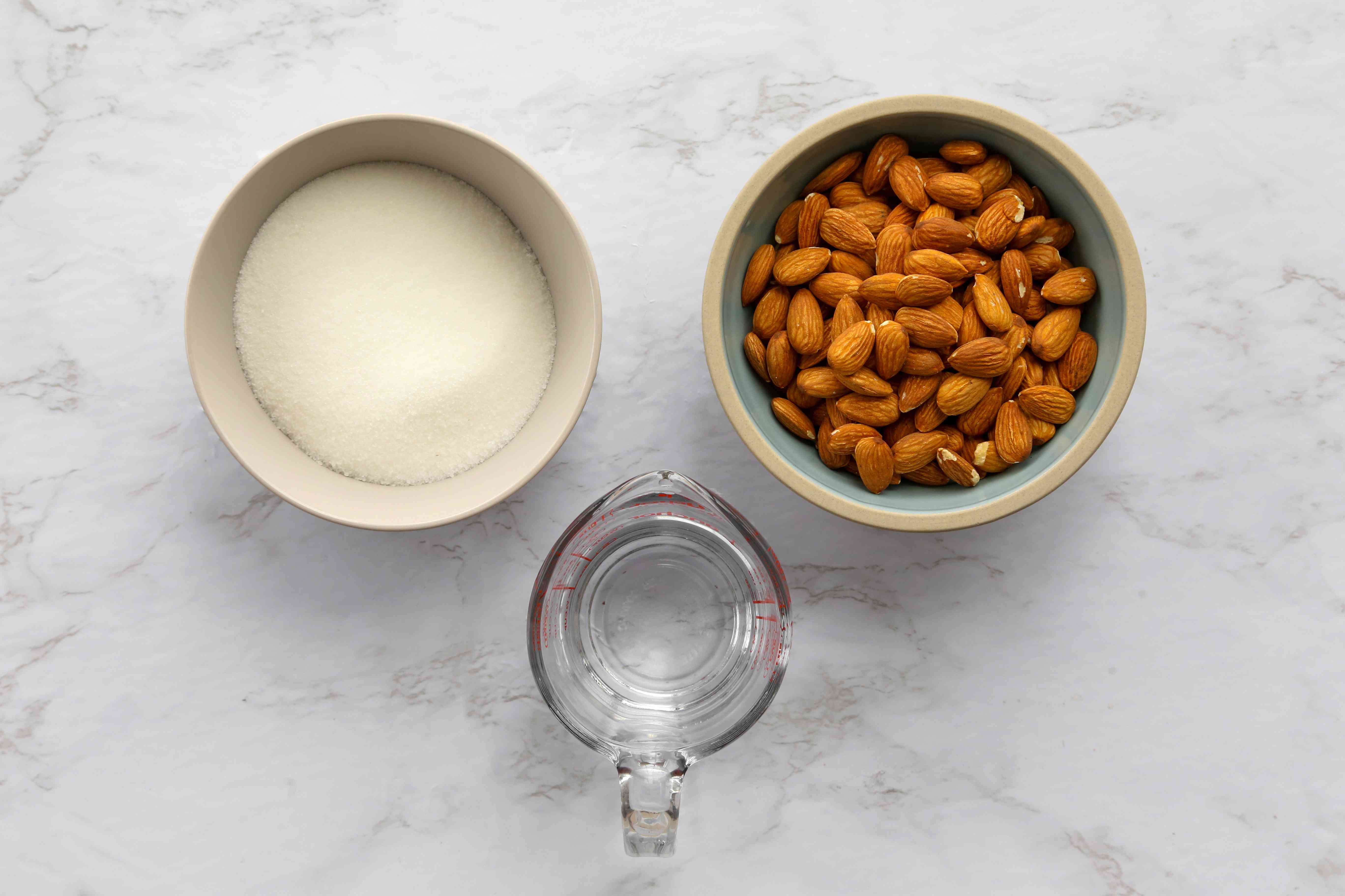 Candied Almonds ingredients