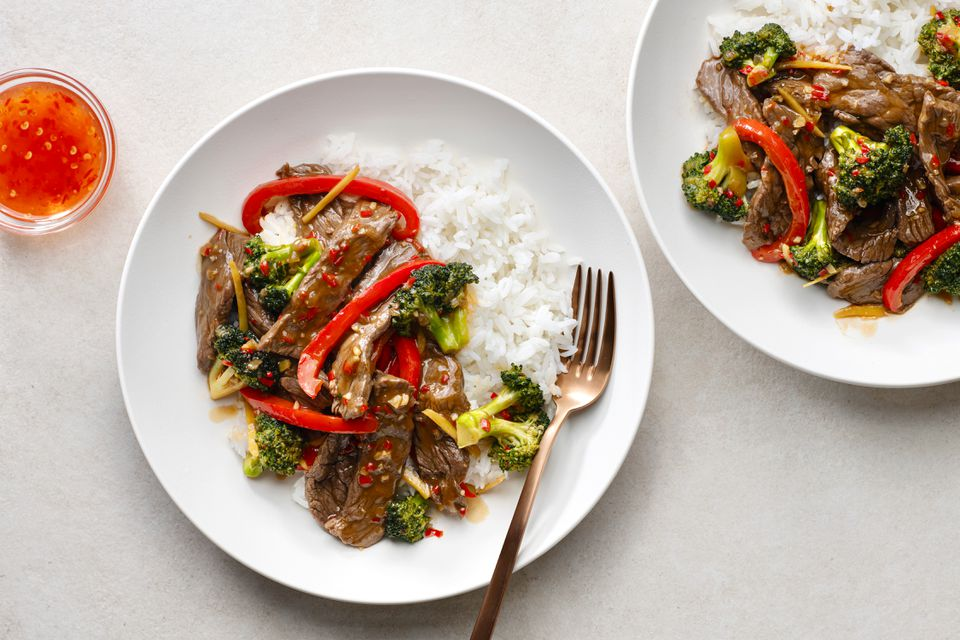 Thai Beef and Broccoli Stir-Fry