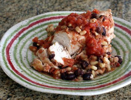 Santa Fe Chicken, Crock Pot