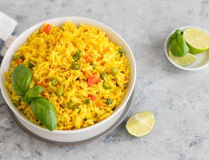 Easy yellow rice