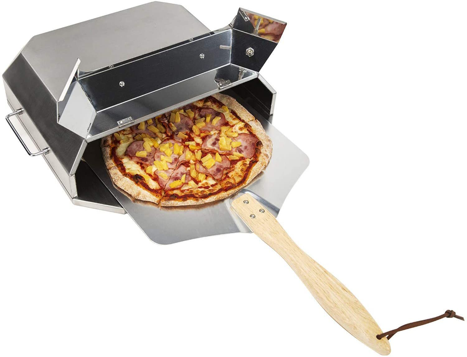 Onlyfire Universal Stainless Steel Pizza Oven Kit