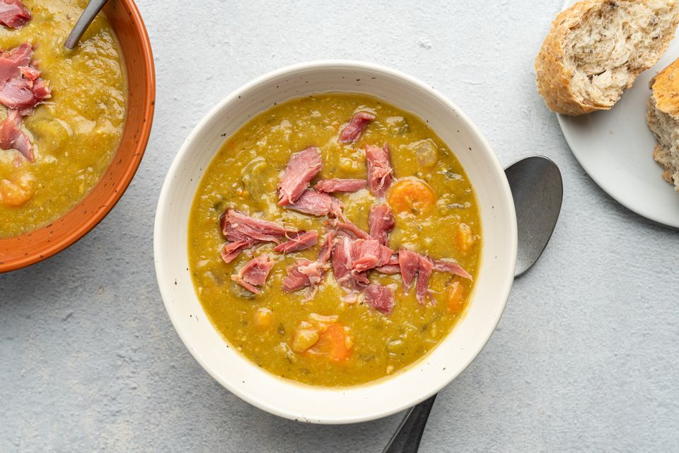 French Canadian-Style Crock Pot Split Pea Soup