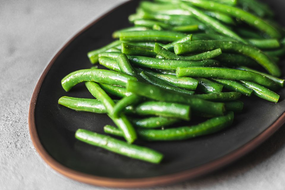 Steamed green beans recipe