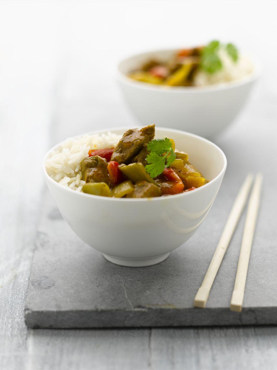 Pork curry rice