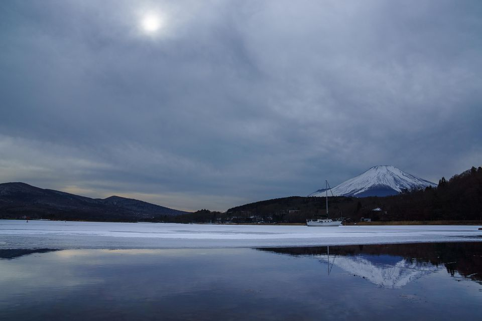 Overcast Day Mt Fuji