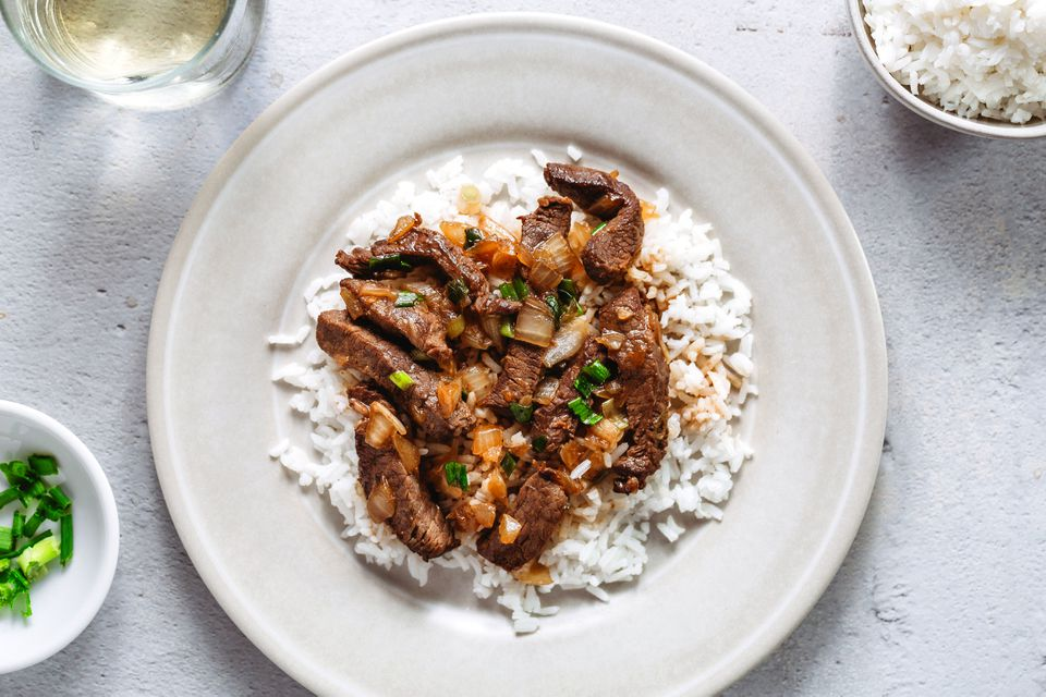 Chinese Stir-Fried Beef With Onions