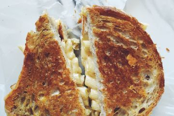 Bacon Fat Grilled Cheese