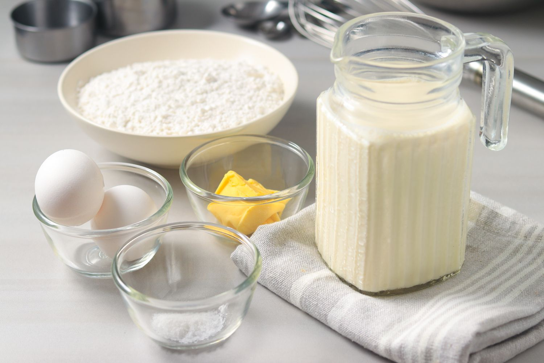 English Pancake Recipe ingredients