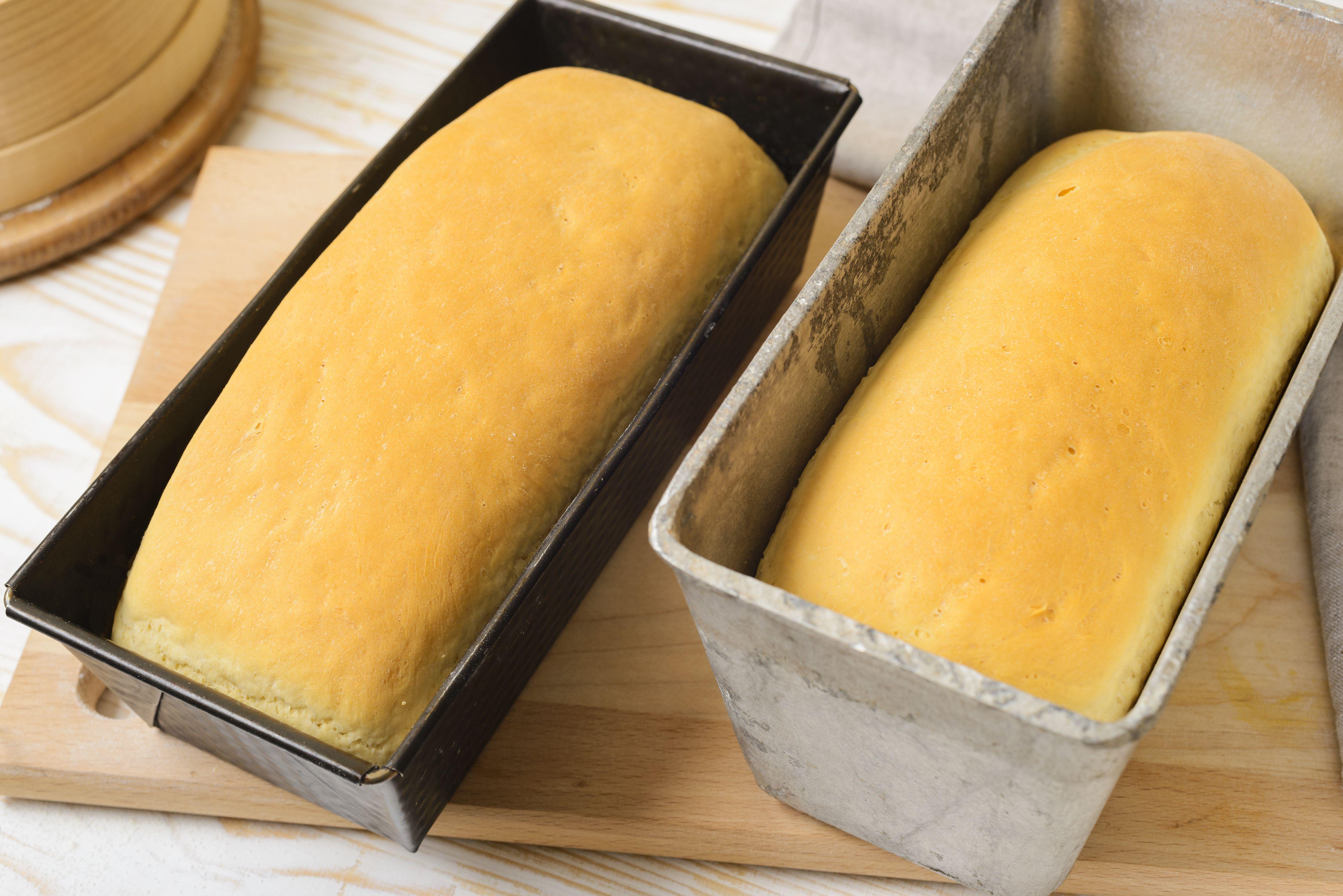 Bake bread until golden