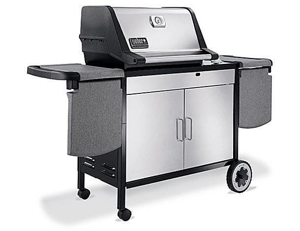 comparing two weber genesis grills. Black Bedroom Furniture Sets. Home Design Ideas