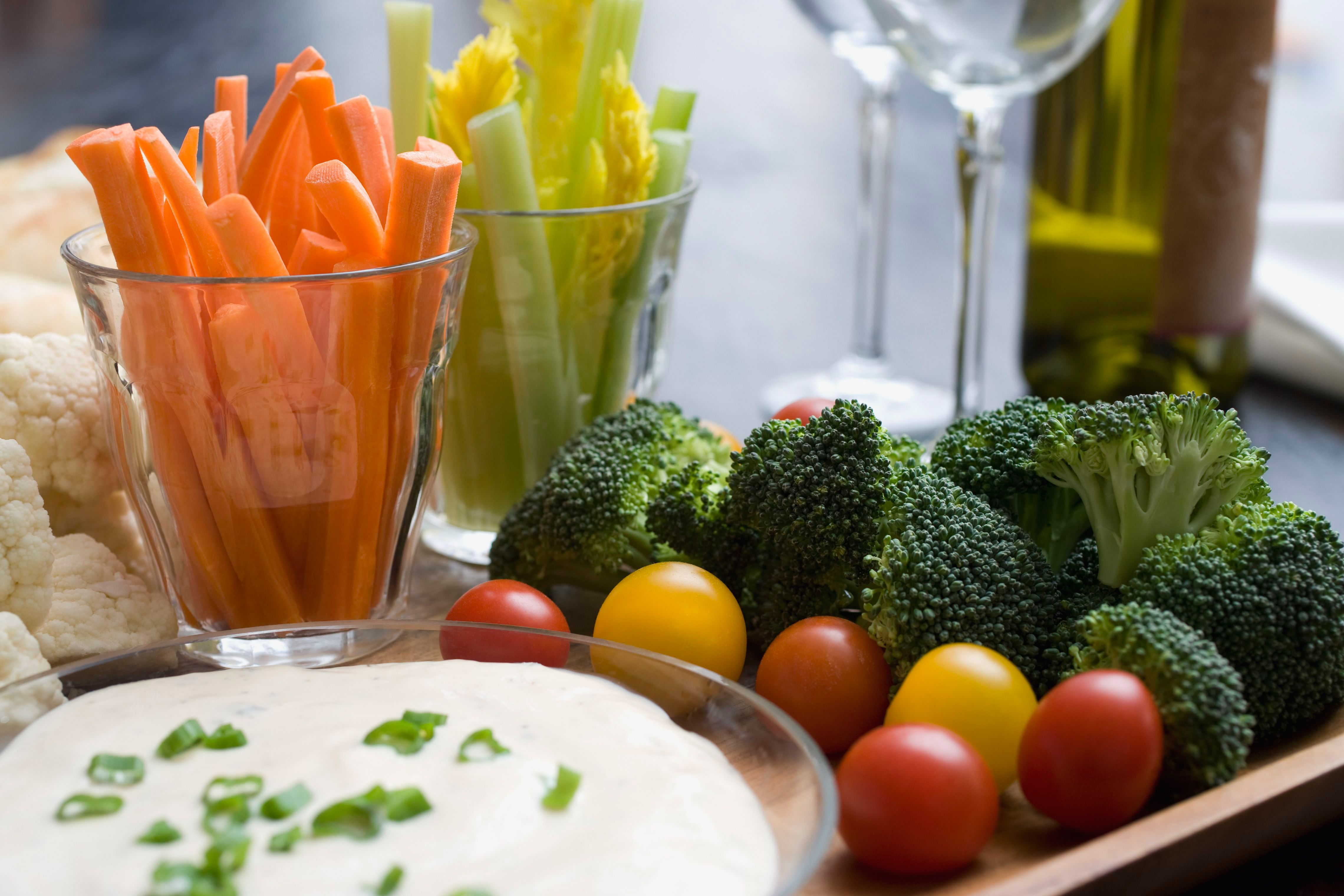 Blue Cheese Dip for Vegetables and Chicken Wings