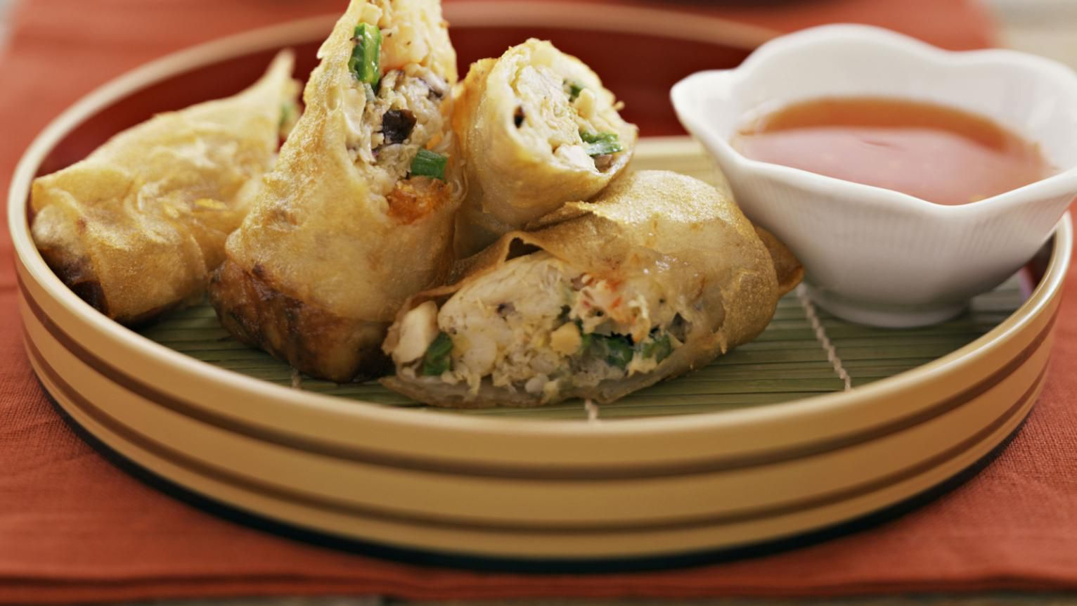 Chinese Vegetable Spring Rolls Recipe