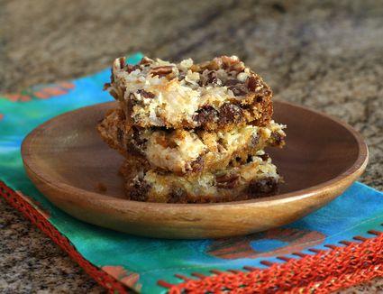 Layered cookie bars