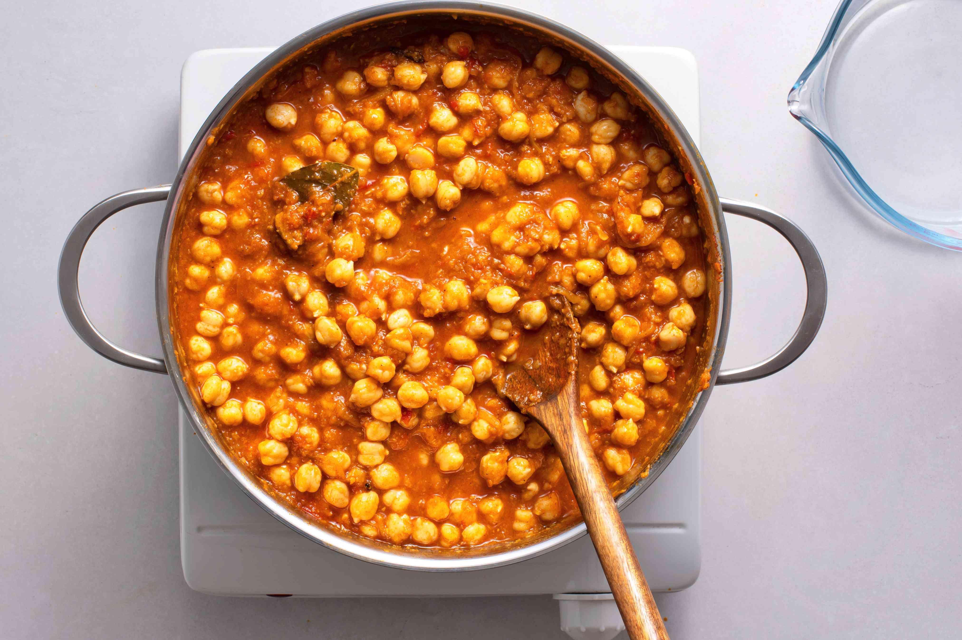 Add salt to taste and hot water to make a gravy