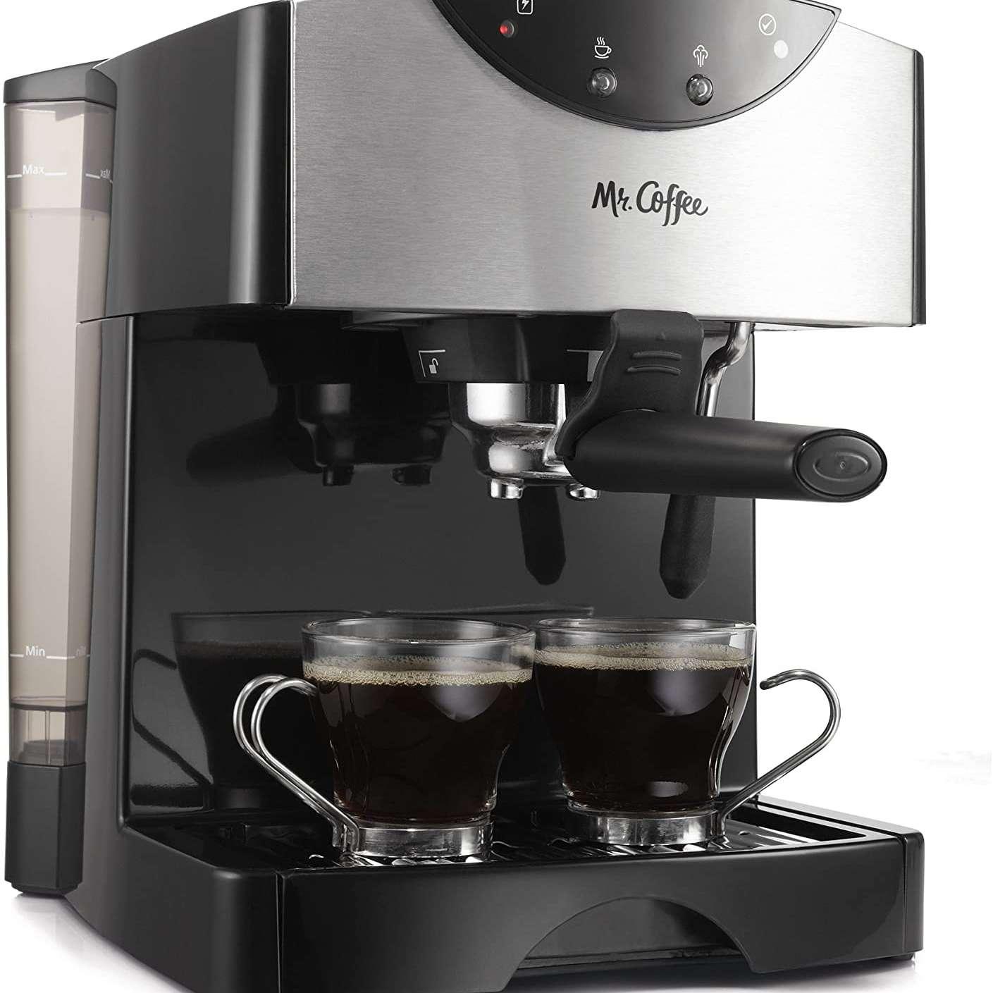 Mr. Coffee Dual Shot Espresso Maker