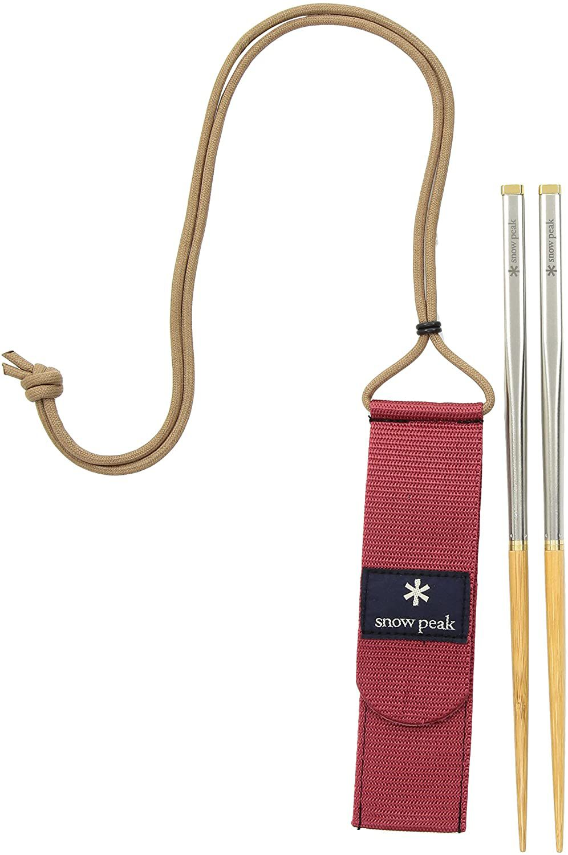 Snow Peak Wabuki Carry-On Chopsticks
