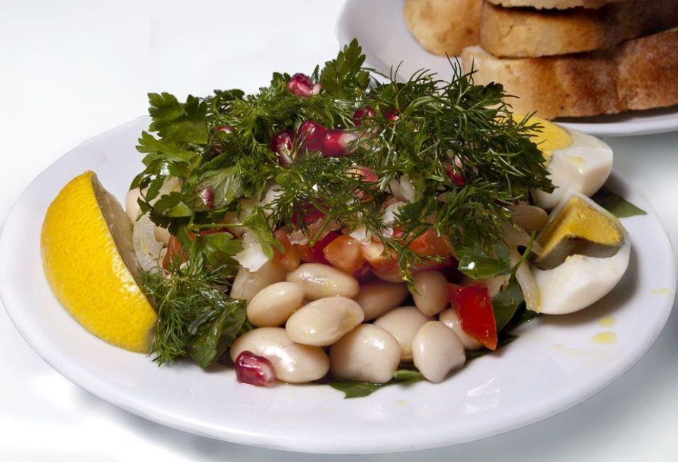 Turkish Navy Bean Salad