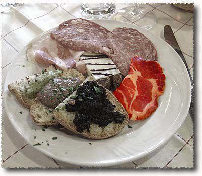 An Antipasto Misto Toscano: Capocollo or Coppa