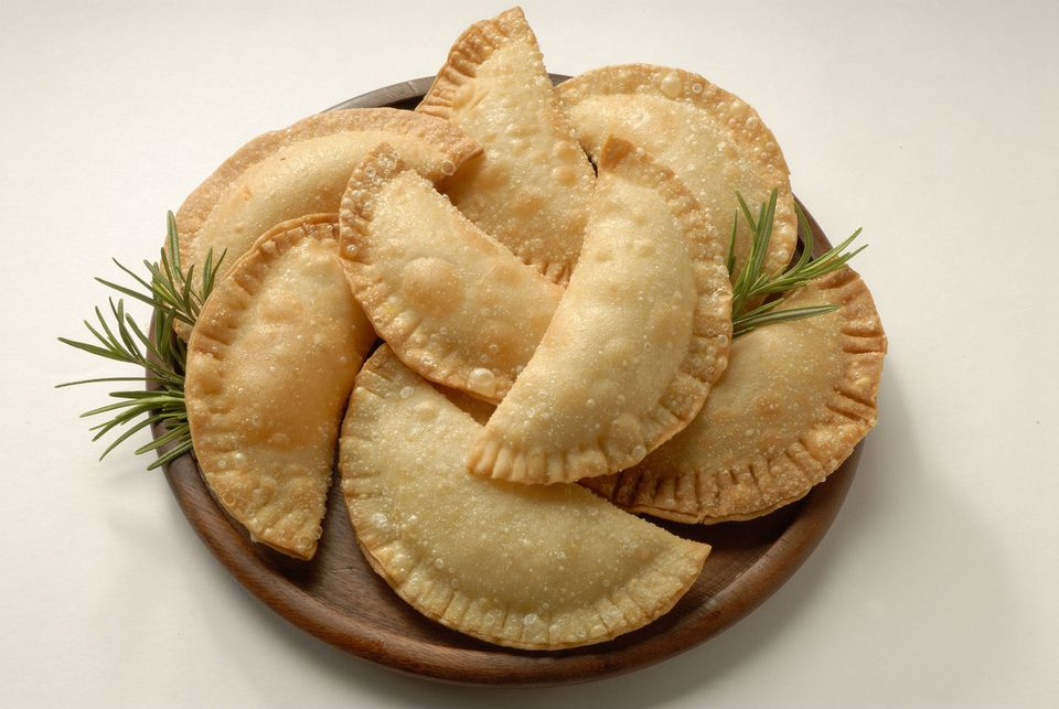 Famous Latin American Empanadas on a plate