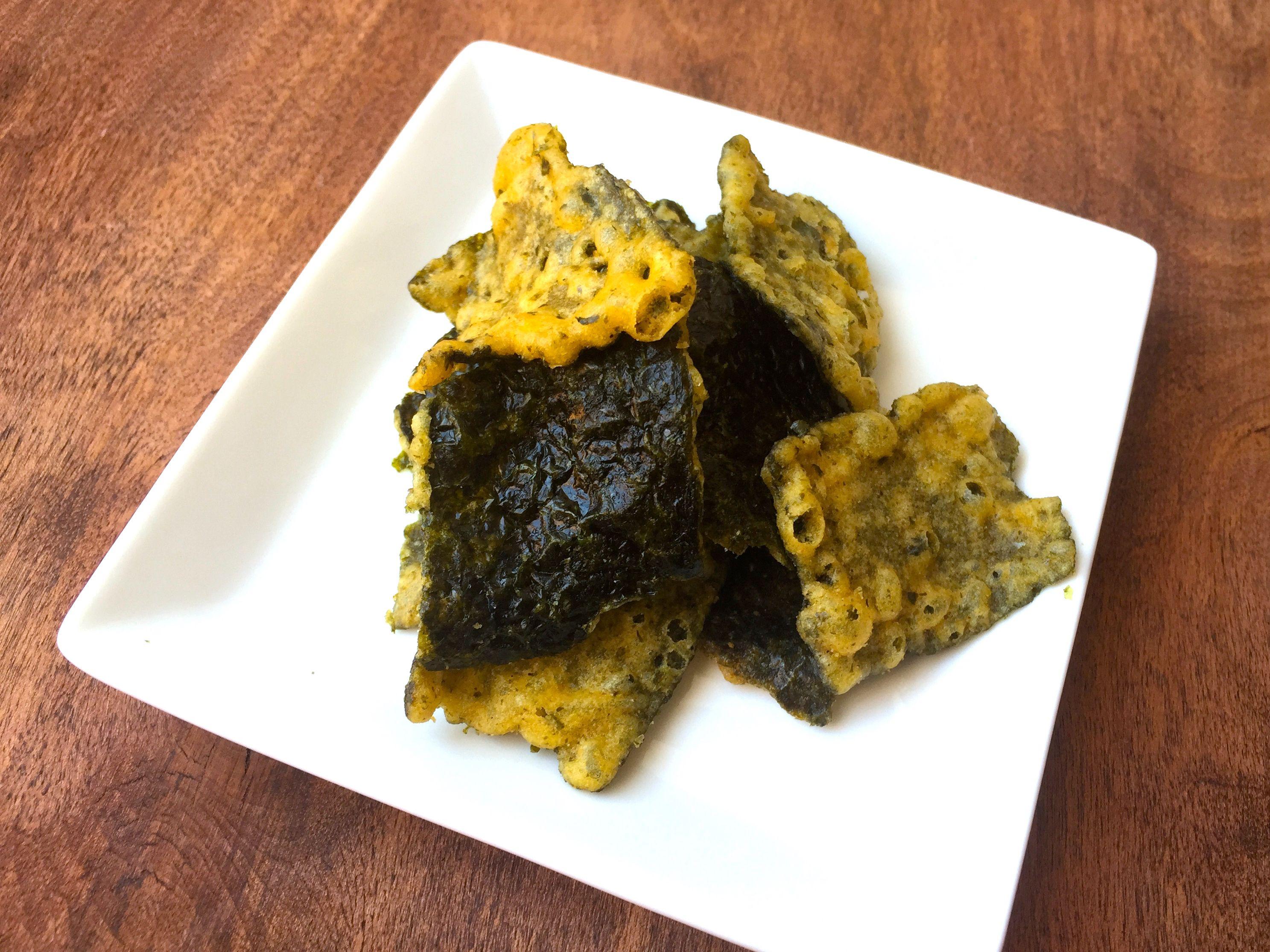 Seaweed Tempura Beer Snack (Nori Ten Otsumami)
