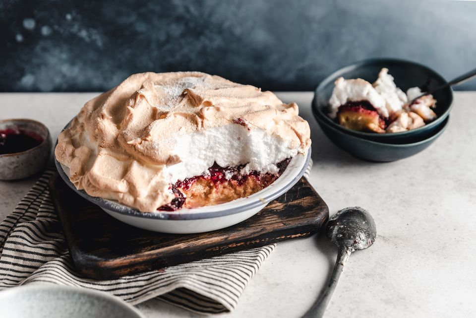 Traditional British Queen of Puddings