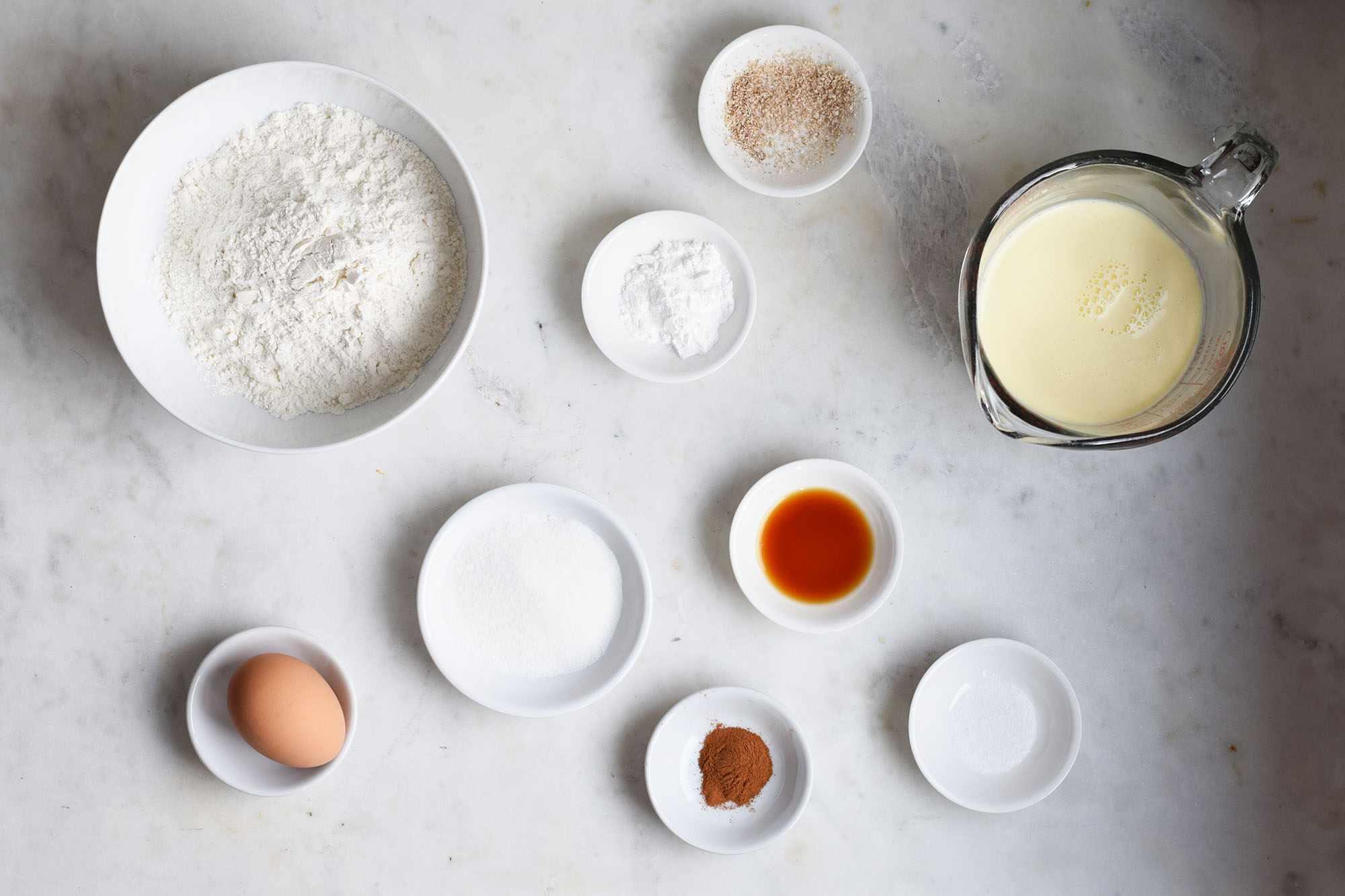 eggnog pancake ingredients