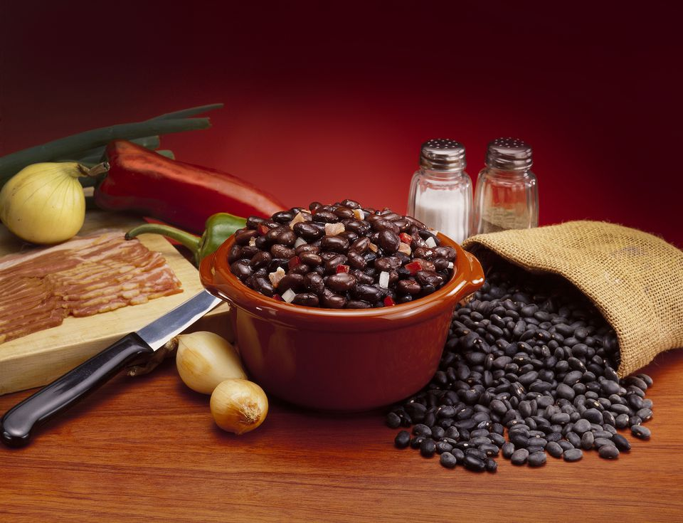 Venezuelan black beans