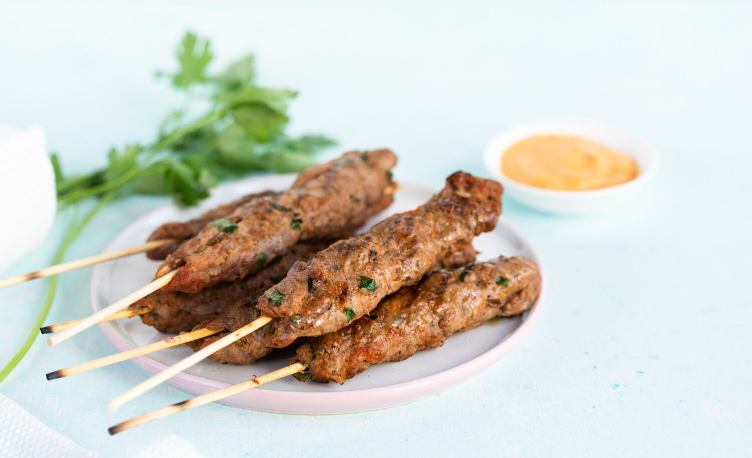 Moroccan Kefta Kebab Recipe With Ground Beef or Lamb