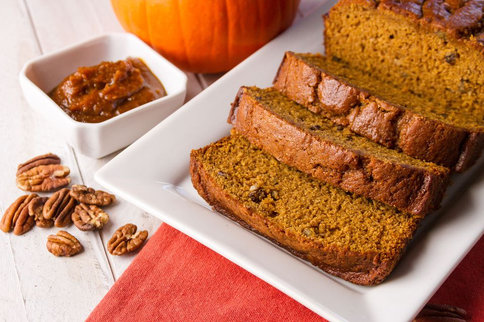 Pumpkin Bread with Walnuts