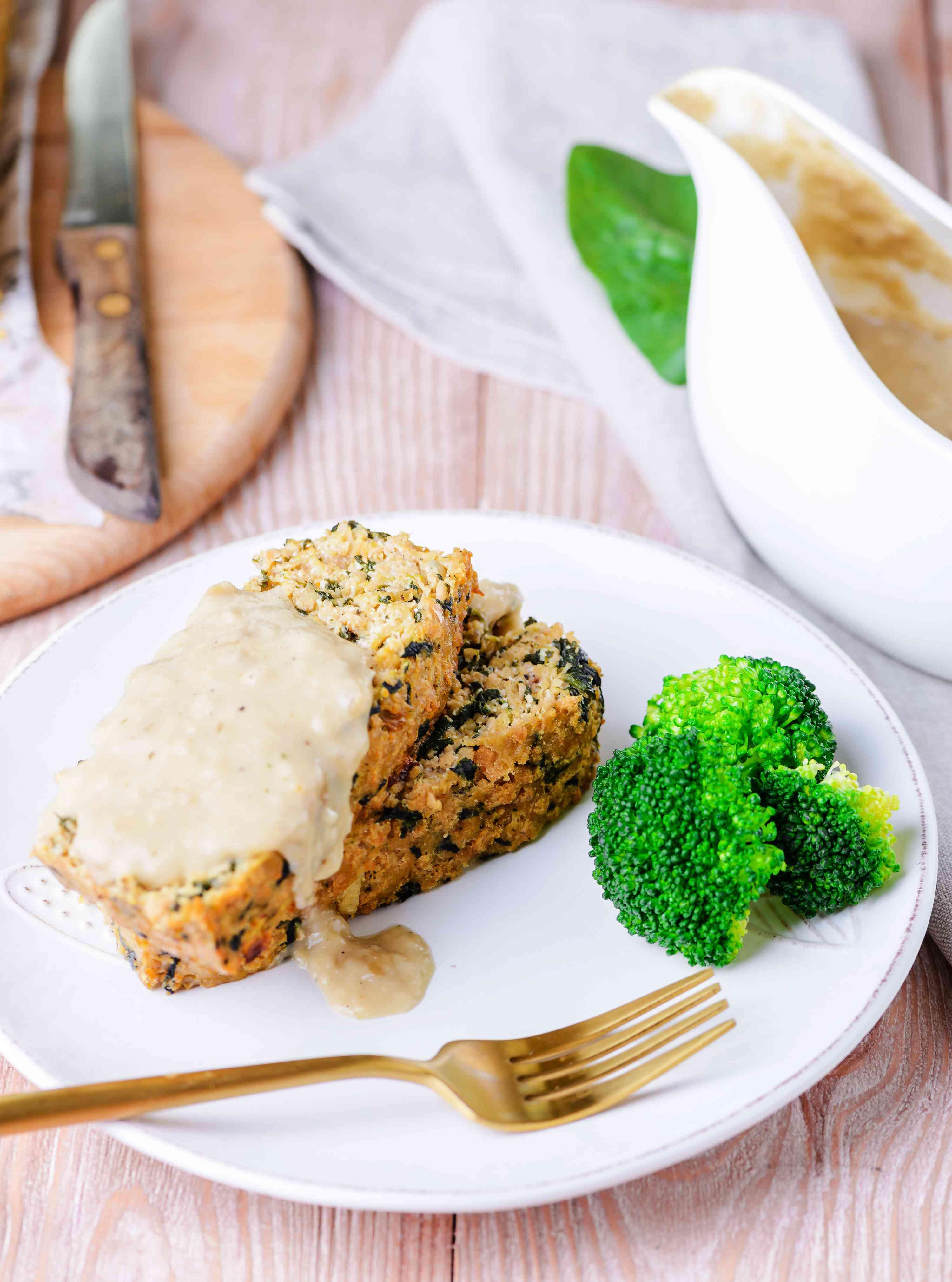 Tofu meat loaf