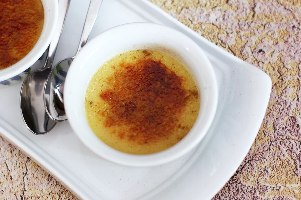 butternut squash creme brulee