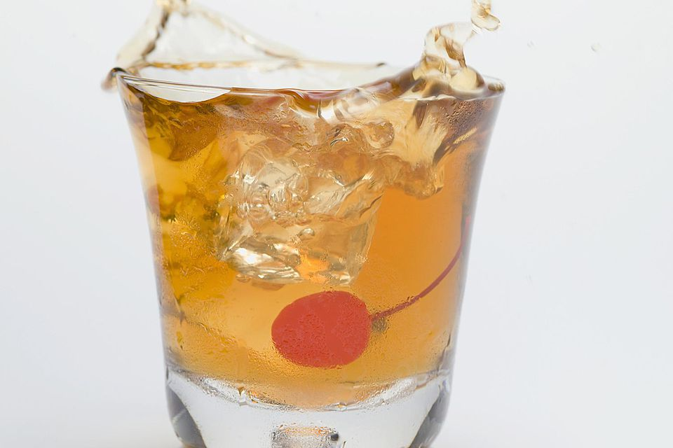 Cocoa Old-fashioned Cocktail