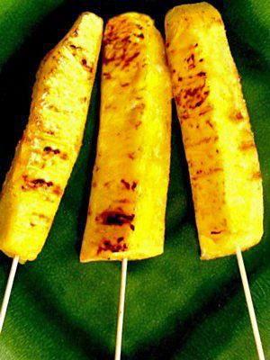 Thai Grilled Pineapple Pops