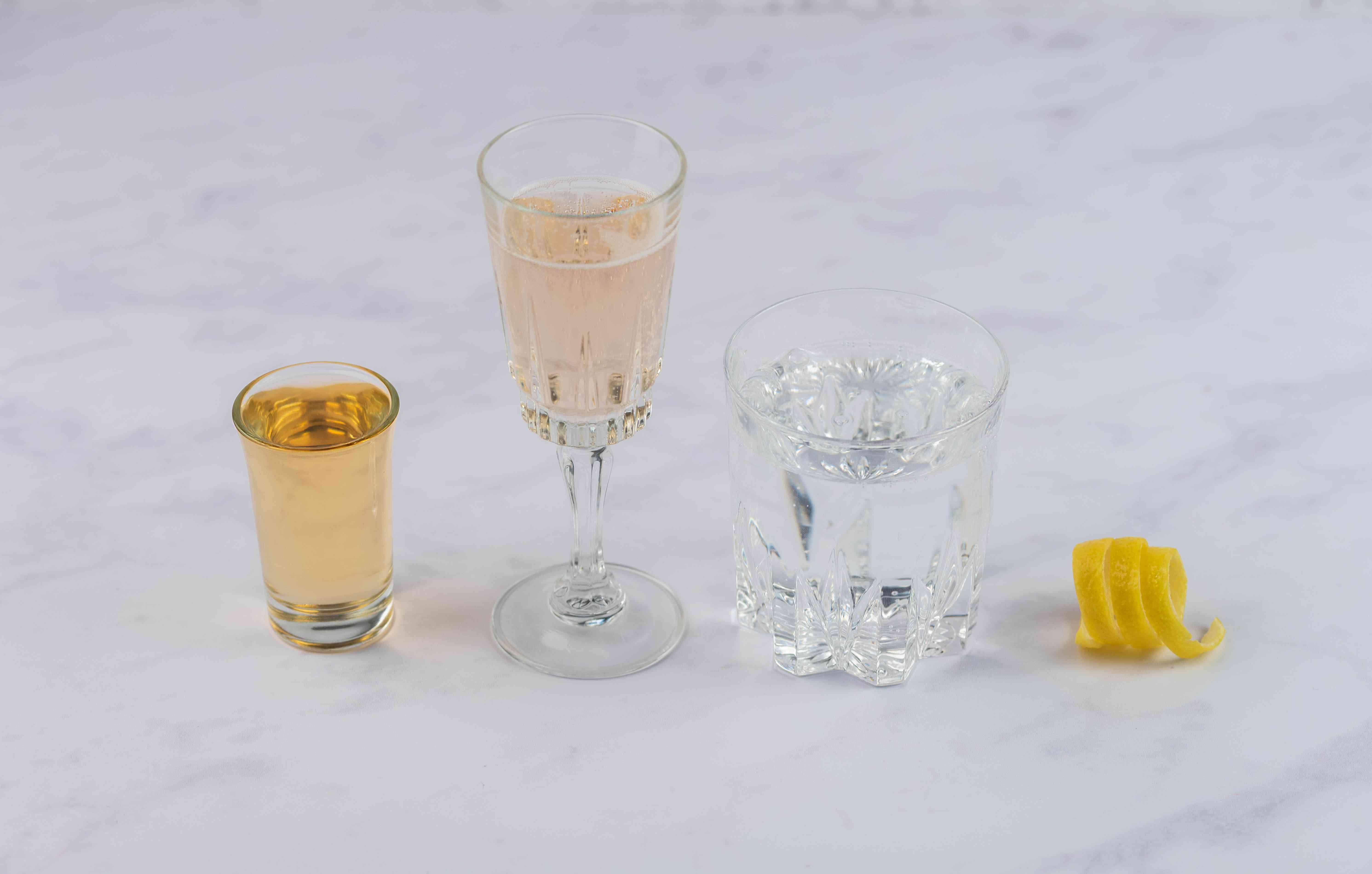 Elderflower Cocktail Recipe With Champagne ingredients