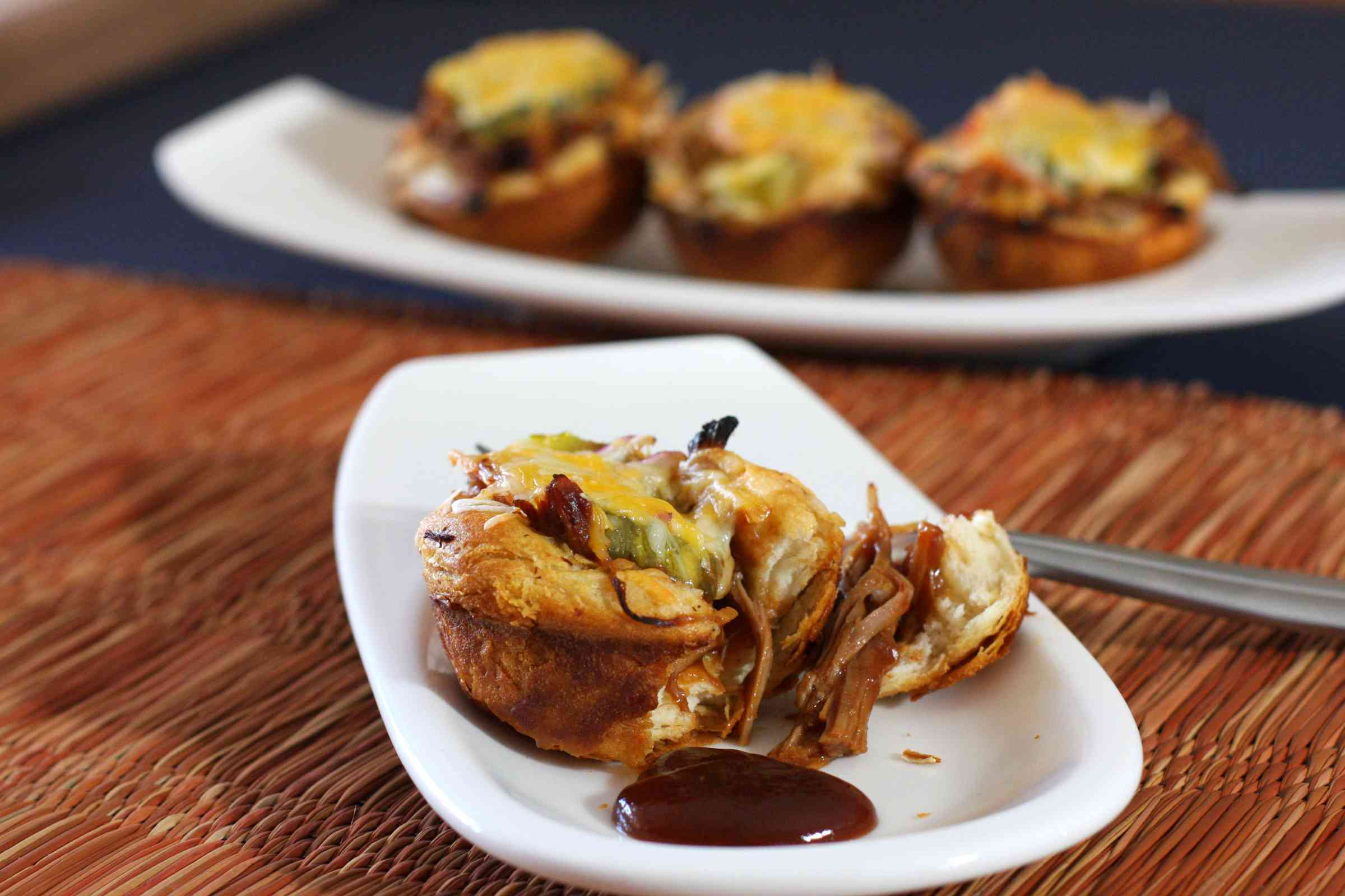 Pulled Pork BBQ Cups