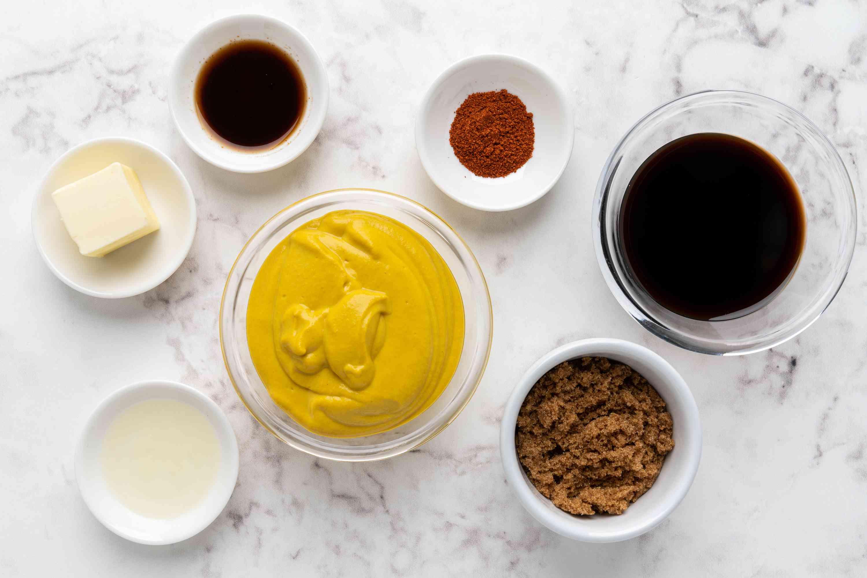 Mustard Barbecue Sauce ingredients