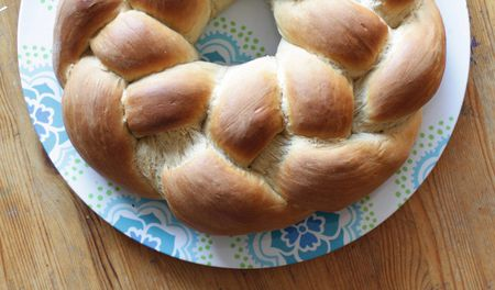Homemade Yeast Bread with Sweet Filling