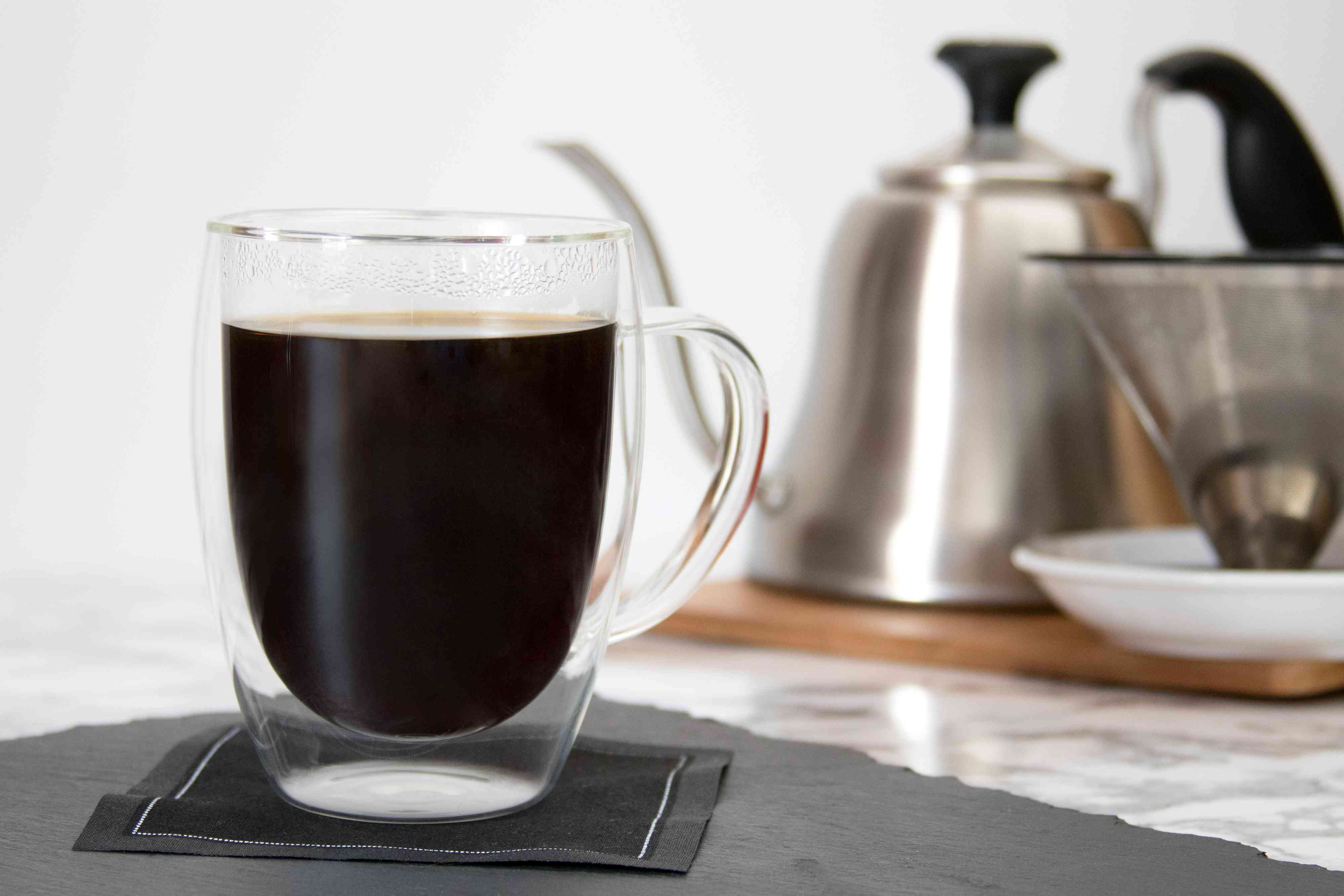 Freshly Brewed Pour-Over Coffee