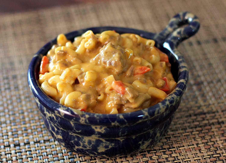 Taco Cheeseburger Macaroni recipe