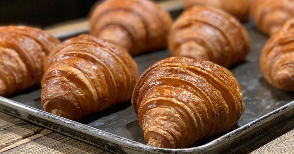 Angelina Bakery Plain Croissants