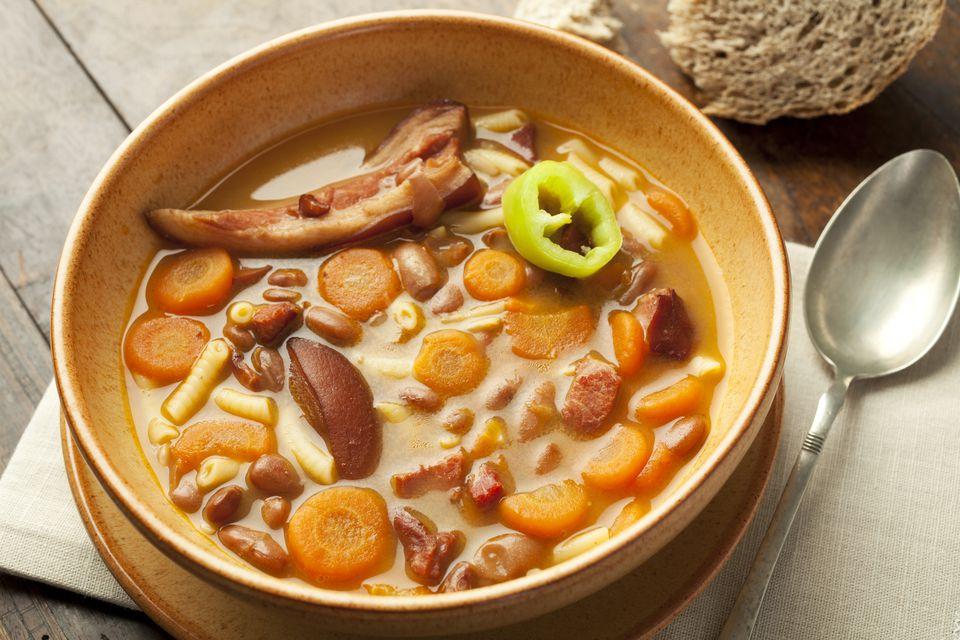 Homemade Bean Soup